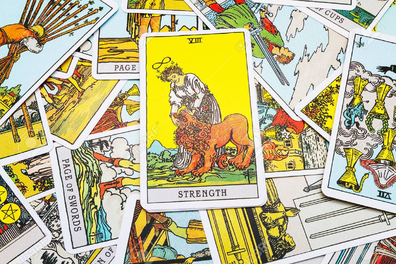 tarot with Strength
